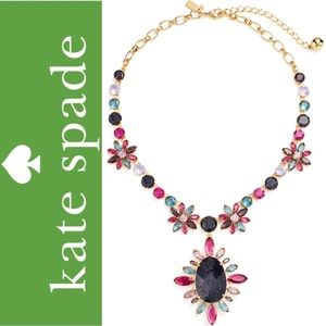 Kate Spade Night Sky Gold Statement Necklace NWT